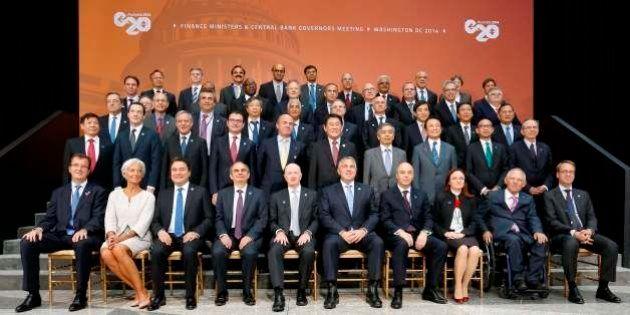 G20で為替発言相次ぐ、米が通貨安競争けん制し日欧はメリット強調