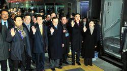 北朝鮮で南北鉄道の着工式。工事のめどは立っていないが、実現への強い意思を示す狙い