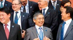 日銀総裁「経済状況反映した円安はプラス」、財務相は為替に沈黙