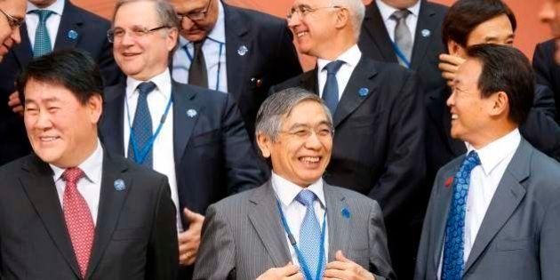 【G20】黒田日銀総裁「経済状況反映した円安はプラス」、麻生財務相は為替に沈黙