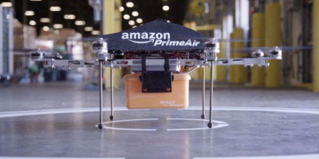 Amazon、ドローン配達サービスを1年以内に開始か