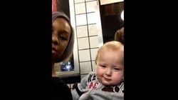 上司の息子の赤ちゃん、私を見るときの表情がボスそっくり【動画】