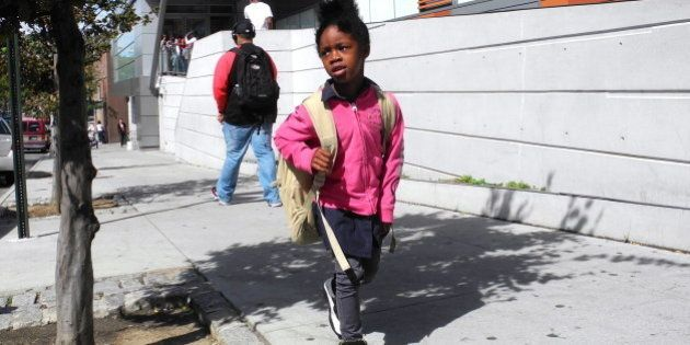 Homeless in New York City - Naaliyah, a 5-year-old girl, has been shuttled from shelter to shelter since...