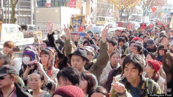 山本太郎氏らと共に三宅洋平氏が「大デモ」開催「デモは、いてもたってもいられない人たちの行き場所」