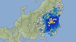 【地震情報】茨城県で震度4 東京・神奈川などで震度3