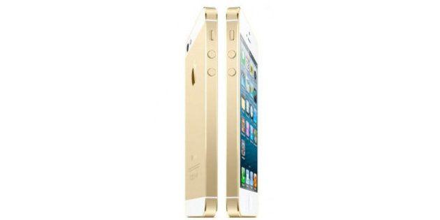 【iPhone5S】新色ゴールド