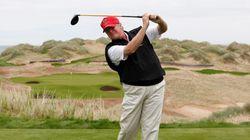 トランプ氏は、大統領就任後9週間で12回ゴルフ場へ行った。公約と矛盾しているが...。