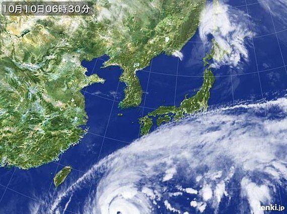 【台風情報】南は強力台風19号、北は竜巻の危険(相原恵理子)