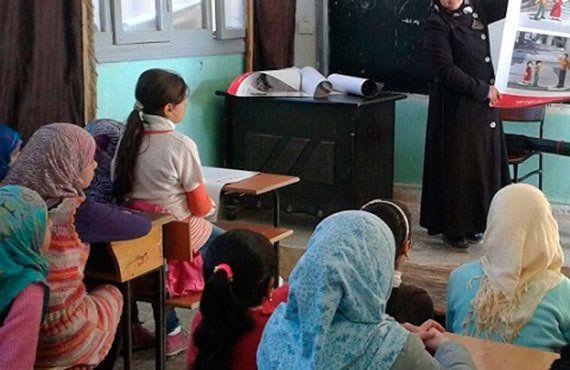 シリア人職員の思い:「命を救ってくれてありがとう」
