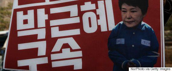 朴槿恵・前大統領に韓国検察が逮捕状請求 大統領経験者で史上3人目