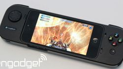 iPhone合体ゲームパッドG550、アップルストアで先行販売