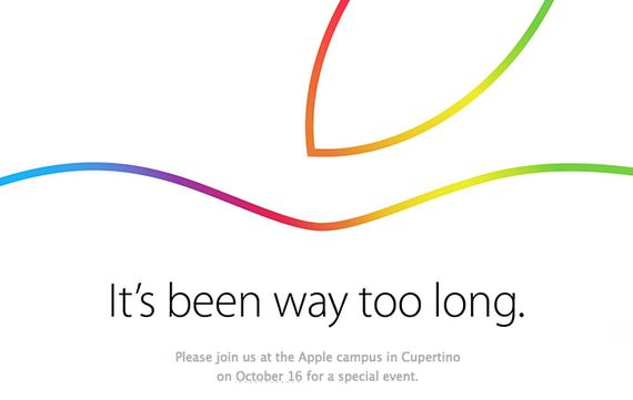 iPad/Macの発表イベント、Appleが10月16日開催