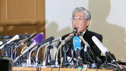 JOC竹田恒和会長、わずか7分で会見終了。「関与していない」と贈賄疑惑を否定