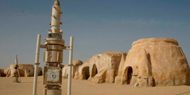 Star wars Movie Site, Tunisia. (Photo by: Education Images/UIG via Getty