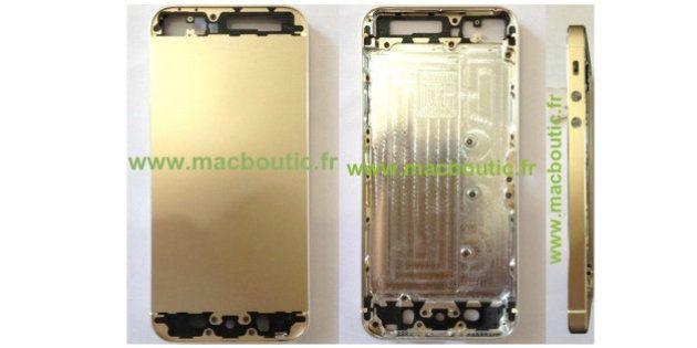 【iPhone5S】アップルの新iPhoneはゴールドも?