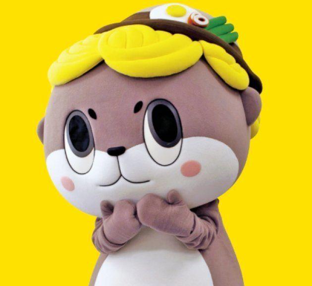 高知県須崎市のゆるキャラ「しんじょう君」