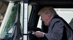トラック大好きトランプ氏、そして雑コラ大会へ(画像)