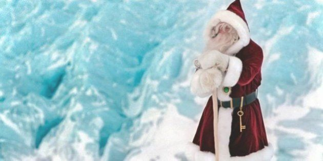 「サンタクロースはグリーンランドに住んでいます!」