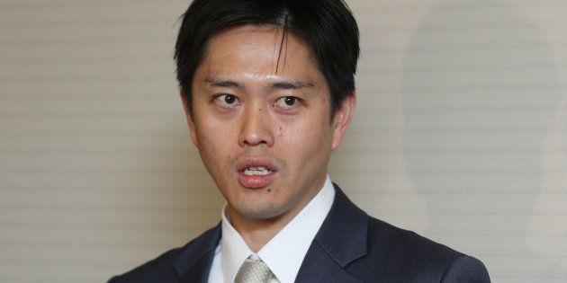 大阪市の吉村洋文市長