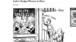 ニューヨーク・タイムズが謝罪文 インド火星探査の漫画が「人種差別」と抗議受け