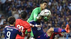 サッカー日本代表、格下シンガポールに得点奪えずドロー