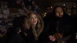 マドンナ、パリ襲撃の犠牲者に歌を捧げる「私たち全員に光が必要です」(動画)