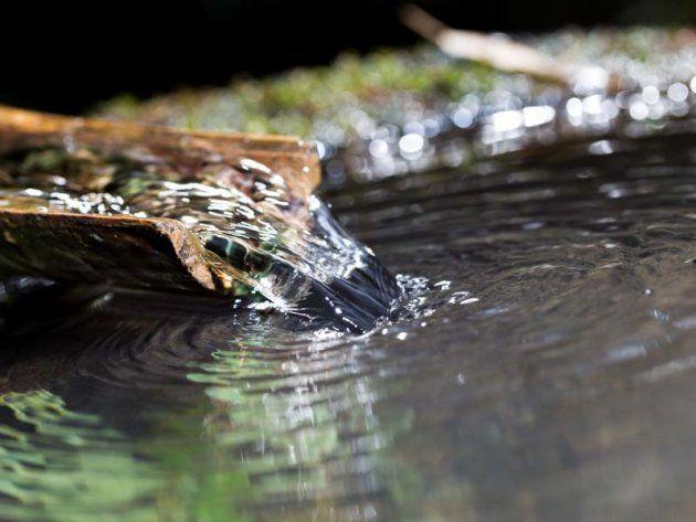 大寒の朝に汲んだ水は1年間腐らないと言われていた