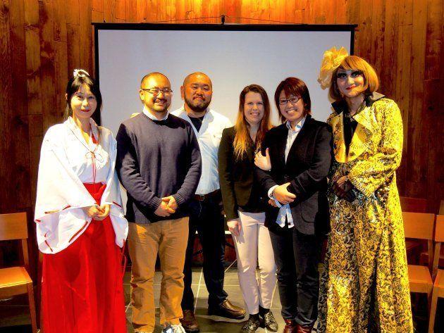 イベントに登壇したみなさん。(左から)「Marriage For All Japan -