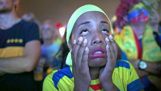 世界各国のW杯サポーターの悲しみが伝わる画像集