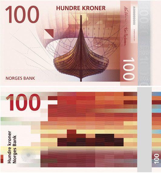 北欧ノルウェー新札デザインはカラフルな「海」がテーマ