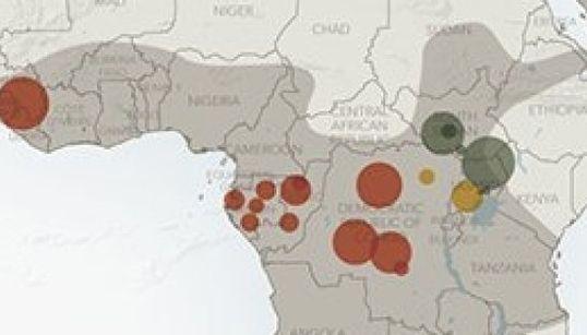 「エボラ出血熱が制御不能」深刻さがわかるインフォグラフィック