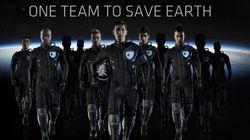 「世界最高のイレブン」が地球を救うサッカー(サムスンのCM)