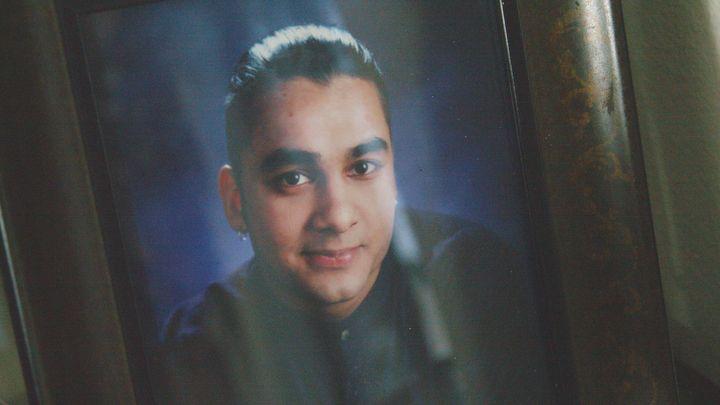 A photo of Tariq Khamisa.