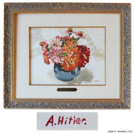 ヒトラーの水彩画、競売へ イギリス紙が酷評した作品には何が描かれていたのか?