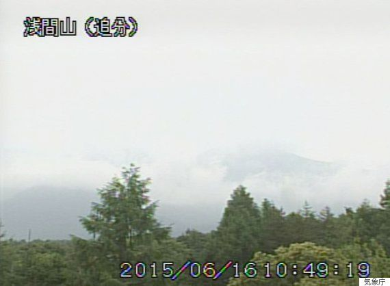 浅間山で小規模噴火 ライブカメラはここで見られる