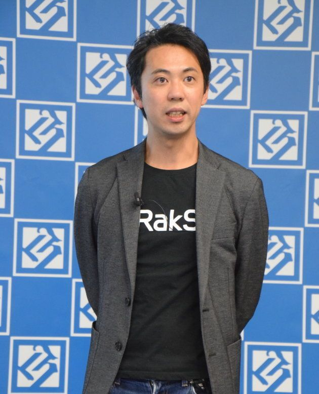代表取締役社長CEO・松本恭攝さん