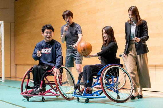 聞いて、見て、やってみてわかる障がい者スポーツの魅力