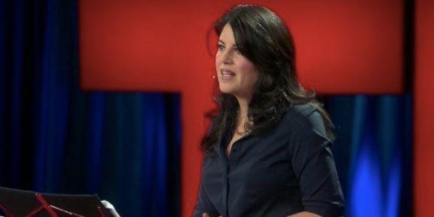 モニカ・ルインスキーさん、TEDで雄弁に語る「自分の過去を避けて通るのはやめにしました」