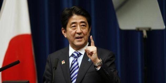安倍首相「デフレ脱却へ着実に前進」