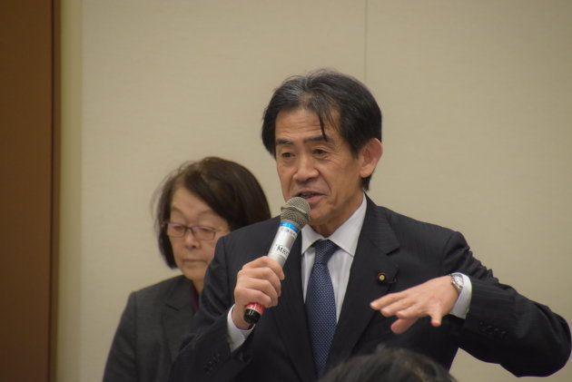 自民党・逢沢一郎氏