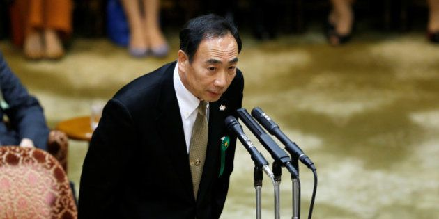 Yasunori Kagoike, head of Moritomo Gakuen school, attends a parliamentary session in Tokyo, Japan March...