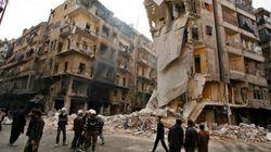 シリア:政府軍がアレッポに数十回の空爆
