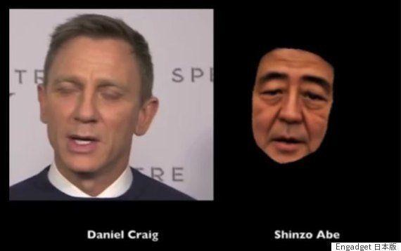 安倍首相を無許可で3D操り人形化、ハリウッド俳優に喋らせる