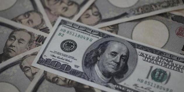 ドル105.05円まで上昇 5年2カ月ぶりの高値