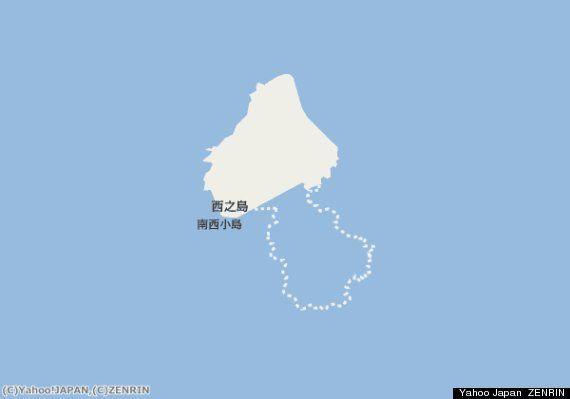 小笠原の新島、西之島とつながるとスヌーピーに似てる?