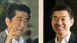 安倍晋三首相、橋下徹氏と会談 安保法制審議に協力要請か