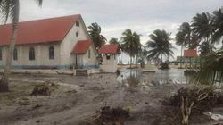 サイクロンPAMがツバルにもたらした、津波のような被害