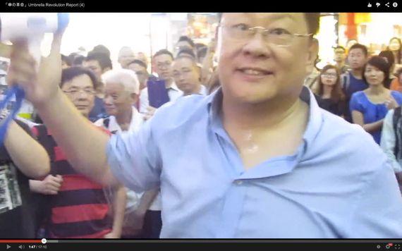【現地ルポ・香港プロテスト③】「警察は動かなかった」誰が煽動した?傘の革命7日目の緊迫の衝突現場を撮影
