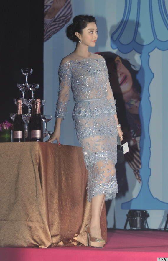 セレブ達の美しいドレス姿(写真)