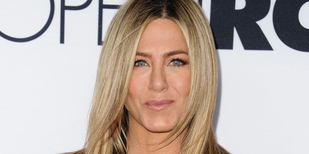 HOLLYWOOD, CA - APRIL 13: Actress Jennifer Aniston attends the premiere of 'Mother's Day' at TCL Chinese...